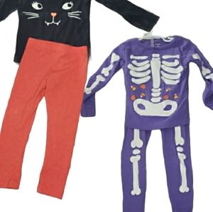 Carter's 💫 Girls 4T 2 Halloween Outfits